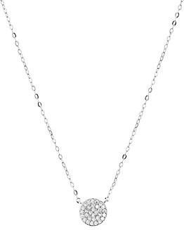 Nadri Small Circle Pendant Necklace, 14
