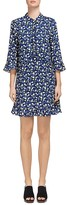 Whistles Bell Flower-Print Shirt Dress