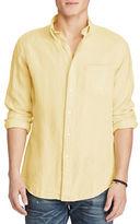 Polo Ralph Lauren Standard Fit Ocean-Wash Linen Shirt