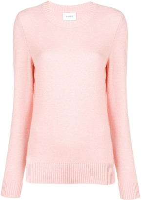Barrie round neck knitted pullover
