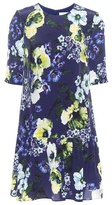 Erdem Emmie floral-printed silk dress
