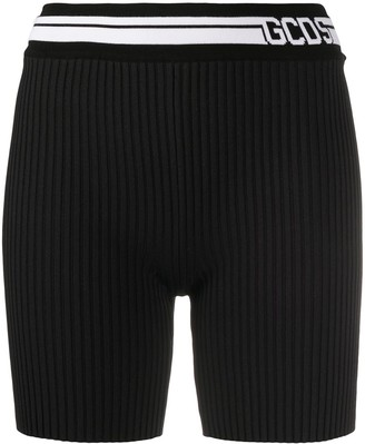 GCDS Logo Waist Shorts