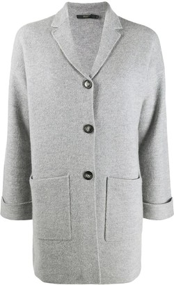 Seventy Single-Breasted Knit Jacket