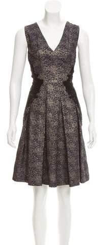 Sophie Theallet Brocade Silk Dress
