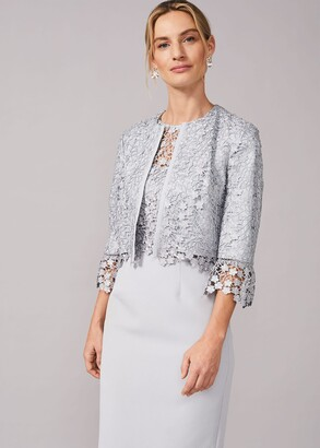 Phase Eight Mariposa Lace Occasion Jacket