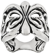 American West Sterling Scroll Design Band Ring