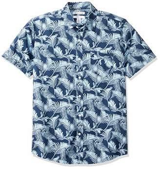Amazon Essentials Regular-Fit Short-Sleeve Print ShirtUS (EU XS)