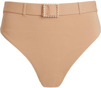 WeWoreWhat Emily Belted Bikini Bottoms
