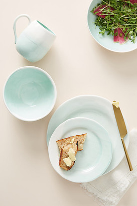 Cabarita Dinner Plates, Set of 4 By Gather by Anthropologie in Mint Size S/4 dinner