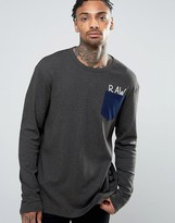 G Star G-Star Beraw Qane Regular Pocket Long Sleeve Top