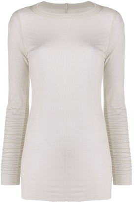 Rick Owens Ribbed Long Sleeve Top
