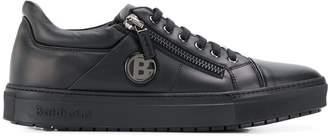 Baldinini logo patch side zip sneakers