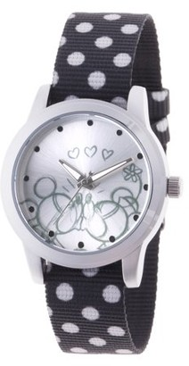 Disney Mouse Women's Silver Alloy Watch, 1-Pack