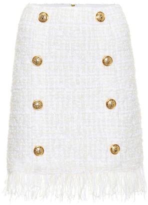 Balmain Tweed miniskirt