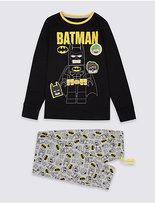 Marks and Spencer BatmanTM Long Sleeve Pyjamas (3-14 Years)