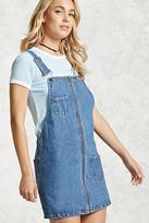 Forever 21 O-Ring Zipper Overall Dress