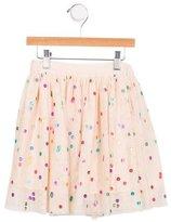 Stella McCartney Girls' Tulle Polka Dot Skirt