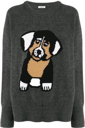 P.A.R.O.S.H. Dog crew neck jumper