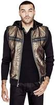 G by Guess Men's Tinson Hooded Vest