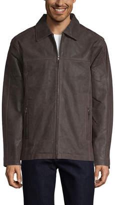 Vintage Leather Distressed Brown Jacket