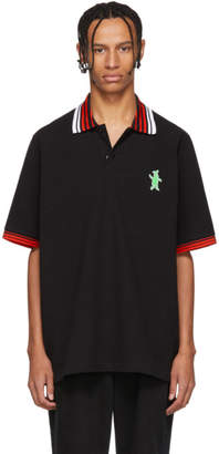 Marni Dance Bunny Black and Red Bunny Polo