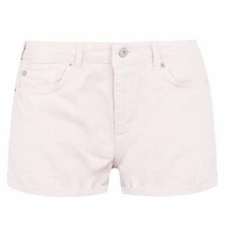 Jack Wills Womens Denim Shorts Signature Logo (Pink 10)