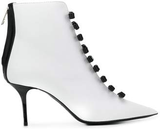 MSGM bow detail booties