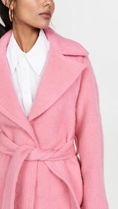 VVB Brushed Wool Coat