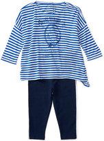 Ralph Lauren Striped Shirt & Jersey Leggings Set, Baby Girls (0-24 months)