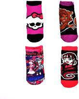 Monster High Socks- 4 Pairs