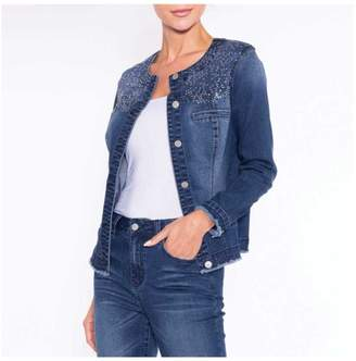 Alison Sheri Bling Denim Jacket