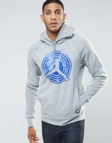Jordan Nike Aj11 Pullover Hoodie In Grey 823714-063