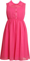 Bonnie Jean Girls Dress, Girls Chiffon Shirtdress