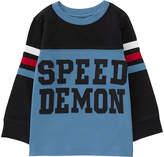 Gymboree Blue Color Block 'Speed Demon' Tee - Infant