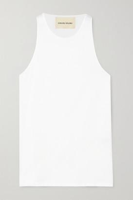 LOULOU STUDIO Mahina Supima Cotton-jersey Tank - White