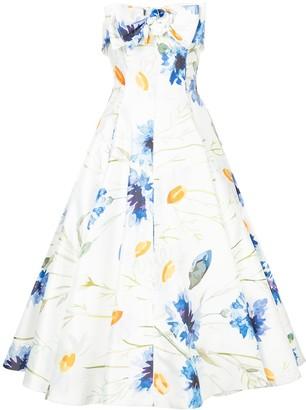 Bambah Carnation midi dress