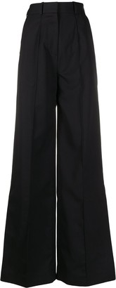 Rokh Tailored Wide Leg Trousers