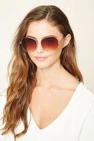 Forever 21 FOREVER 21+ Gradient Square Sunglasses