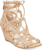 Kenneth Cole New York Women's Dylan Lace-Up Wedge Sandals