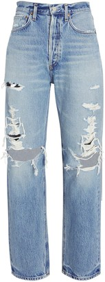 AGOLDE 90s Loose Distressed Jeans