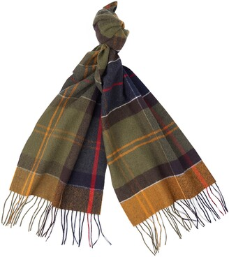 Barbour Inverness Tartan Wool Scarf
