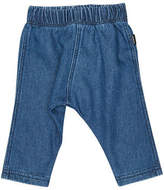 Bonds New Kids Baby Dark Terry Denim Pant Cotton Chambray Blue