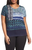Nic+Zoe Plus Size Women's On Board Top