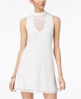 Trixxi Juniors' Lace A-Line Dress