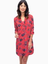 Splendid Cindelle Floral Lace Up Shirtdress