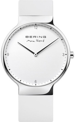 Bering Max Rene 15531-904 Silicone Strap White Watch