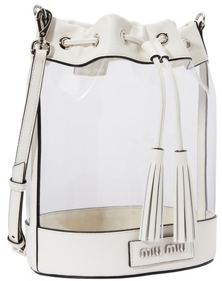 Miu Miu Plexi bucket bag