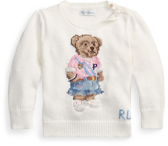 Ralph Lauren Spring Bear Cotton Jumper
