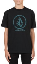 Volcom Boy's Lino Stone Graphic T-Shirt