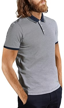 Ted Baker Pool Cotton Striped Polo